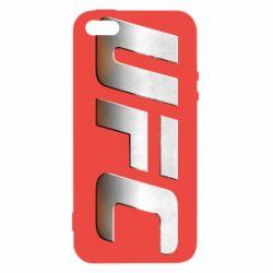 Чохол для iphone 5/5S/SE UFC Metal - FatLine