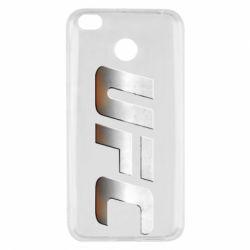 Чохол для Xiaomi Redmi 4x UFC Metal - FatLine