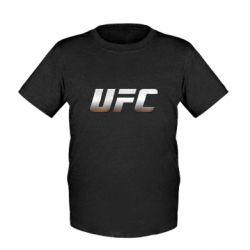 Детская футболка UFC Metal - FatLine