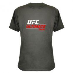 Камуфляжная футболка UFC Ultimate Team - FatLine
