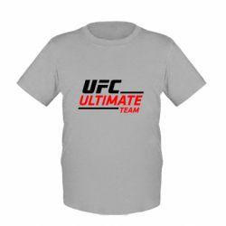 Детская футболка UFC Ultimate Team - FatLine