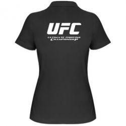 Женская футболка поло UFC - FatLine