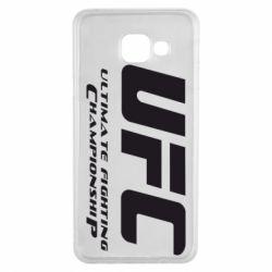Чехол для Samsung A3 2016 UFC