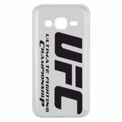 Чехол для Samsung J2 2015 UFC
