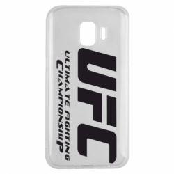 Чехол для Samsung J2 2018 UFC