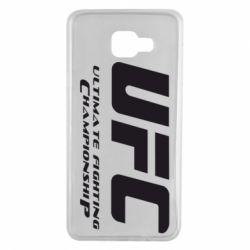 Чехол для Samsung A7 2016 UFC