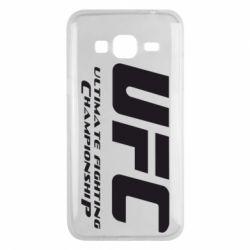 Чехол для Samsung J3 2016 UFC