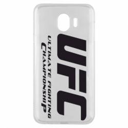 Чехол для Samsung J4 UFC