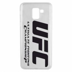 Чехол для Samsung J6 UFC