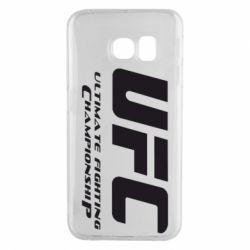 Чехол для Samsung S6 EDGE UFC