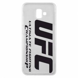 Чехол для Samsung J6 Plus 2018 UFC