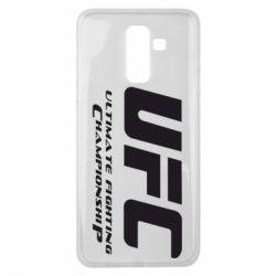 Чехол для Samsung J8 2018 UFC