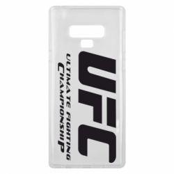 Чехол для Samsung Note 9 UFC