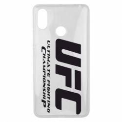 Чехол для Xiaomi Mi Max 3 UFC