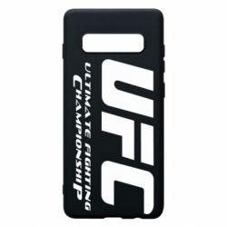 Чехол для Samsung S10+ UFC