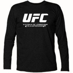 Футболка с длинным рукавом UFC - FatLine