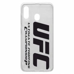 Чехол для Samsung A30 UFC