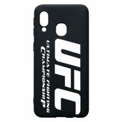 Чехол для Samsung A40 UFC