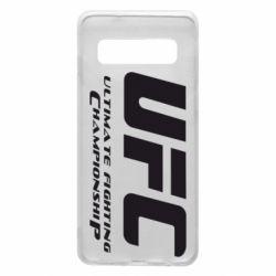 Чехол для Samsung S10 UFC