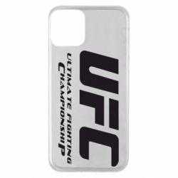 Чехол для iPhone 11 UFC