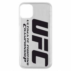Чехол для iPhone 11 Pro UFC
