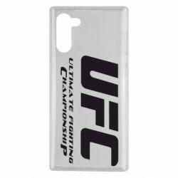 Чехол для Samsung Note 10 UFC
