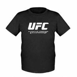 Детская футболка UFC - FatLine