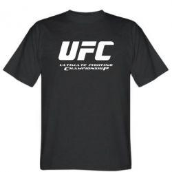Мужская футболка UFC - FatLine