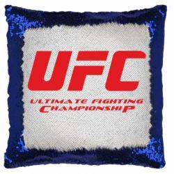 Подушка-хамелеон UFC