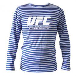 Тельняшка с длинным рукавом UFC - FatLine