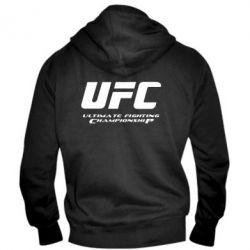 Мужская толстовка на молнии UFC - FatLine