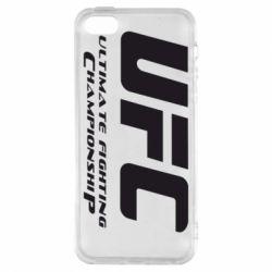 Чехол для iPhone5/5S/SE UFC