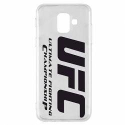 Чехол для Samsung A6 2018 UFC