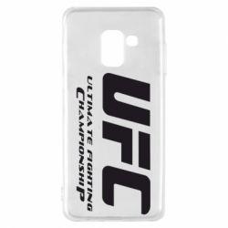 Чехол для Samsung A8 2018 UFC