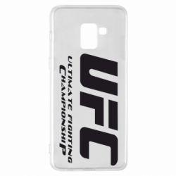 Чехол для Samsung A8+ 2018 UFC