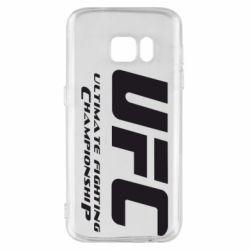 Чехол для Samsung S7 UFC