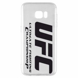 Чехол для Samsung S7 EDGE UFC