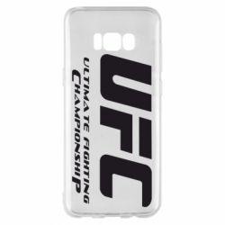 Чехол для Samsung S8+ UFC