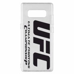 Чехол для Samsung Note 8 UFC