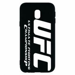 Чехол для Samsung J3 2017 UFC