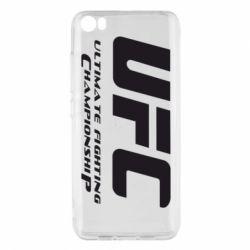 Чехол для Xiaomi Mi5/Mi5 Pro UFC