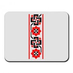 Коврик для мыши Украiiнський орнамент - FatLine