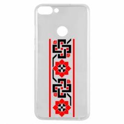 Чехол для Huawei P Smart Украiiнський орнамент - FatLine