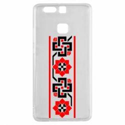 Чехол для Huawei P9 Украiiнський орнамент - FatLine