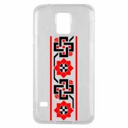 Чехол для Samsung S5 Украiiнський орнамент - FatLine