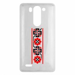 Чехол для LG G3 mini/G3s Украiiнський орнамент - FatLine