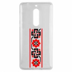 Чехол для Nokia 5 Украiiнський орнамент - FatLine