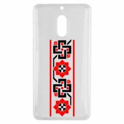 Чехол для Nokia 6 Украiiнський орнамент - FatLine