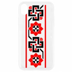Чехол для iPhone XR Украiiнський орнамент - FatLine