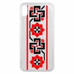 Чехол для iPhone Xs Max Украiiнський орнамент - FatLine